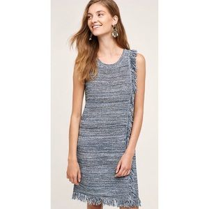 Anthropologie HOLDING HORSES | Fringed Knit Dress
